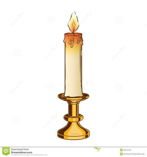 kerzenhalter clip burning candle clipart 72