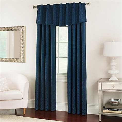nova modern ascot window valance bed bath beyond