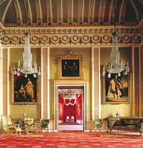 salon del sal 243 n del trono palacio de buckingham londres