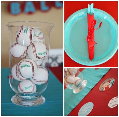 Baseball Table Decoration Ideas by Season Opener Baseball Ideas Pear Tree Greetings