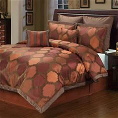 chocolate and burnt orange comforter set burnt orange comforter sets and comforter on pinterest