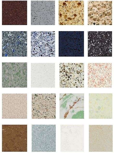 Different Types Of Countertops by Different Types Different Quartz Types