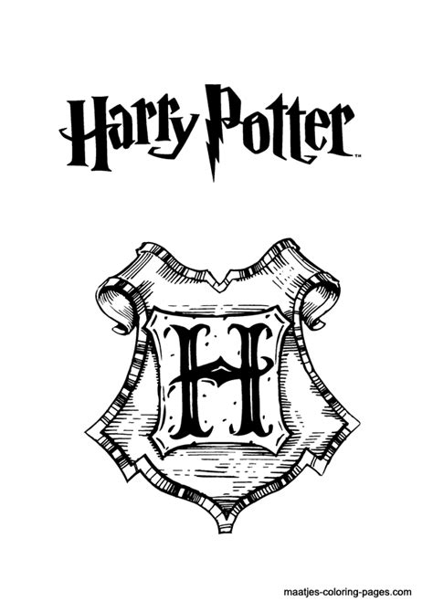 harry potter coloring pages slytherin harry potter coloring pages hogwarts crest coloring home