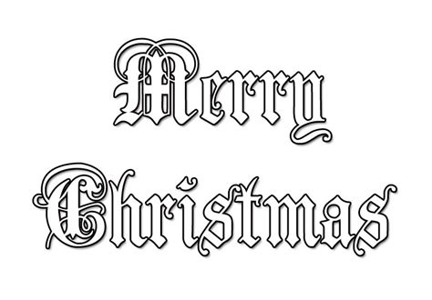Free Merry Christmas Coloring Pages Merry Chirstmas Coloring Page