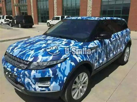 blue camo jeep baby blue camouflage vinyl wrap film blue urban camo vinyl