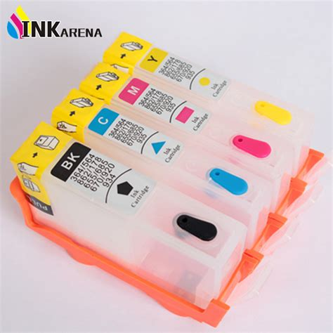 reset hp officejet 6500 wireless printer 4pcs refillable ink cartridge for hp920 for hp 920 xl