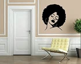 African American Wall Murals com african beauty sexy black hippie girl face decor wall mural