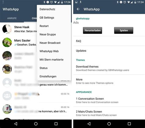 gbwhatsapp themes download gbwhatsapp plus apk v5 15 andro spot