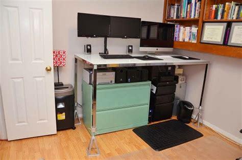 torsby into a standing desk ikea hackers ikea hackers