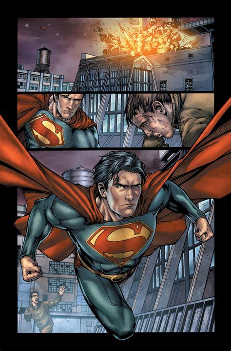 dc previews batman earth one superman earth one vol 2