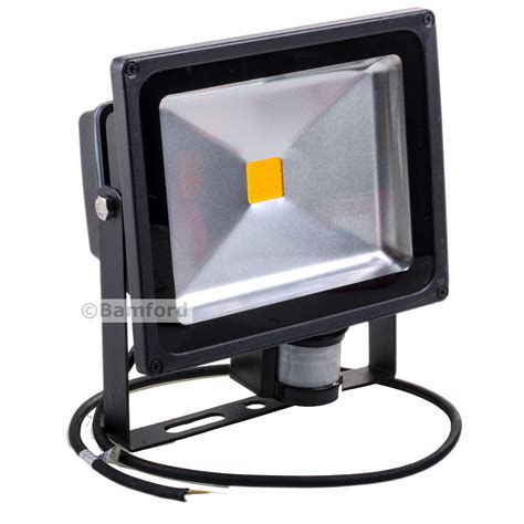 30w led guardian floodlight with pir home security