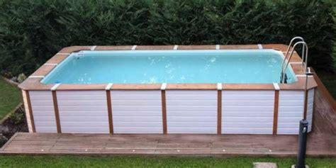 piscine rivestite in legno piscine rivestite in legno look personalizzabili senza
