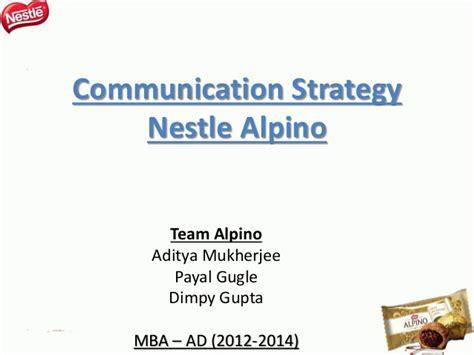 Nestle Mba by Team Alpino Nestle Alpino