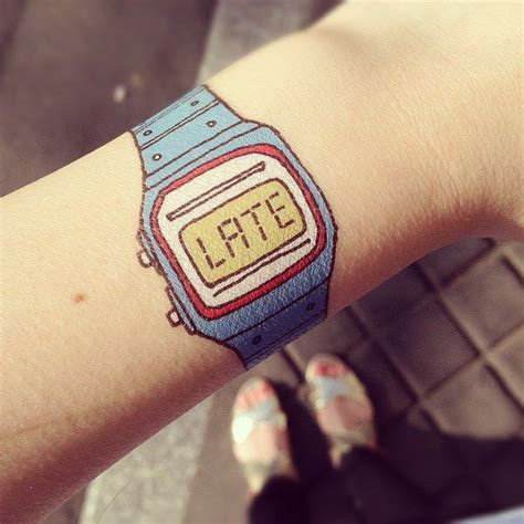wrist watch tattoos 17 best images about designs on