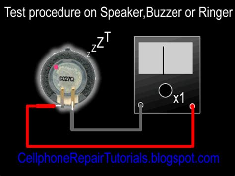 how to test mobile resistor how to test mobile phone speaker buzzer or ringer free cellphone repair tutorials