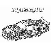 Nascar Coloring Page &amp Book