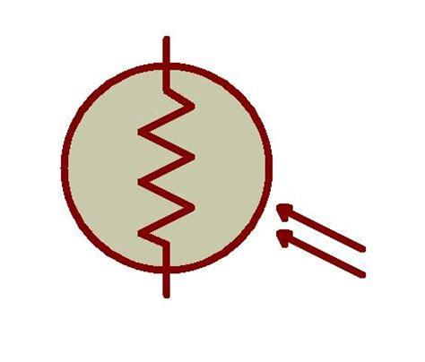 simbol diode ldr types of resistors potentiometer varistor rheostat
