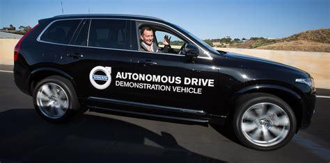 volvo xc  hands   australian driverless vehicle initiative  adelaide