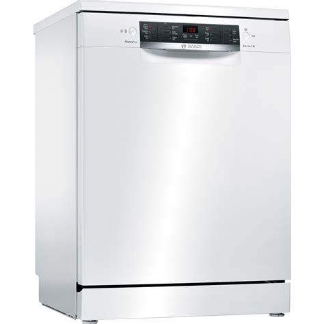 dishwasher home bosch full size freestanding dishwasher sms46mw02g