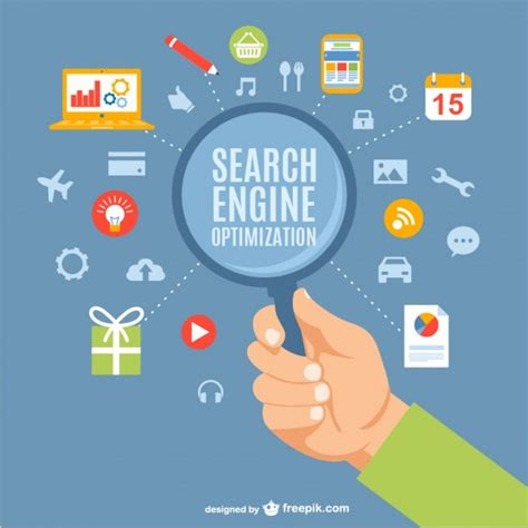 Search Engines Search Engine Optimization Vectors Photos And Psd Files