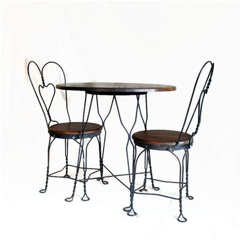 wrought iron bistro table and chair set vintage table and chair set wrought