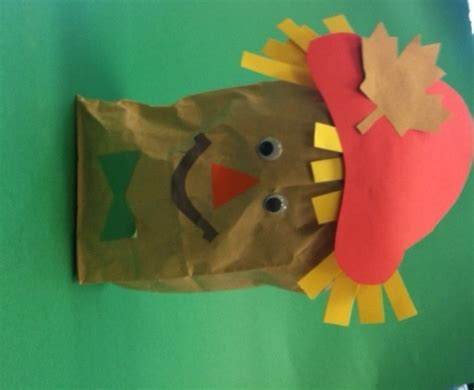 Paper Bag Scarecrow Craft For Preschoolers - 8 best images about greenwich library children s services