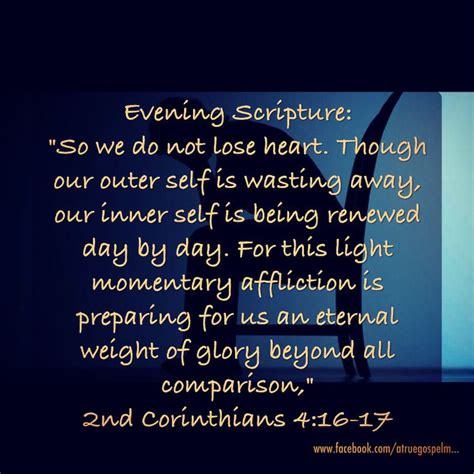 light and momentary affliction evening scripture this light momentary affliction is
