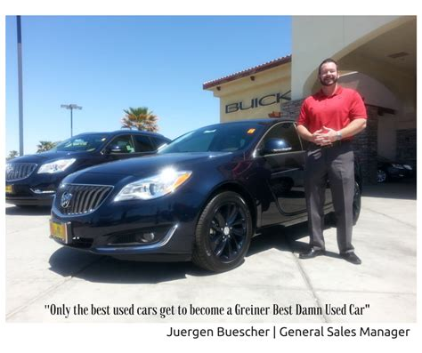 greiner buick greiner buick gmc home of the best used cars in victorville