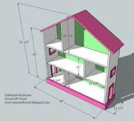 dollhouse floor plans ana white dollhouse bookcase diy projects
