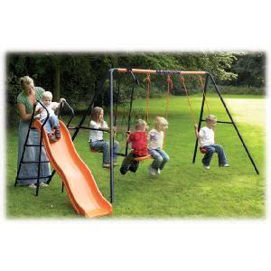 hedstrom swing and slide set wavy slide