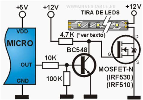 transistor igbt como interruptor como conectar un mosfet de potencia a un microcontrolador inventable