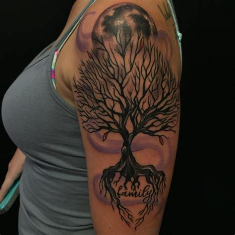 arm tattoo family tree 25 tree tattoo designs ideas design trends premium