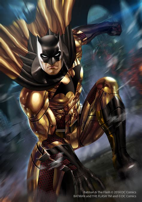 gold batman by junaidi on deviantart