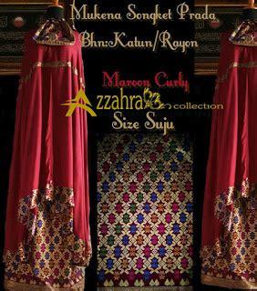 Mukena Crimson Maroon 1 mukena songket bali prada terbaru azzahra collection mukena bali baju dress tiedye motif