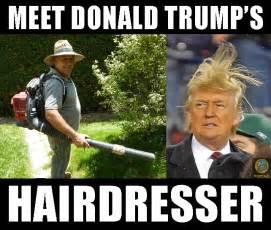 Hairdresser Meme - introducing donald trump s hairdresser pocho