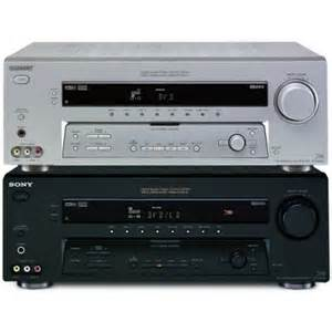 home theater receiver sony str de695 6 1 channel home theater receiver