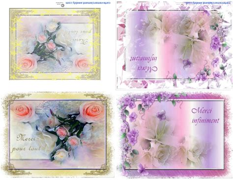Cart De Voeux Gratuite by Carte De Voeux Remerciement Gratuite