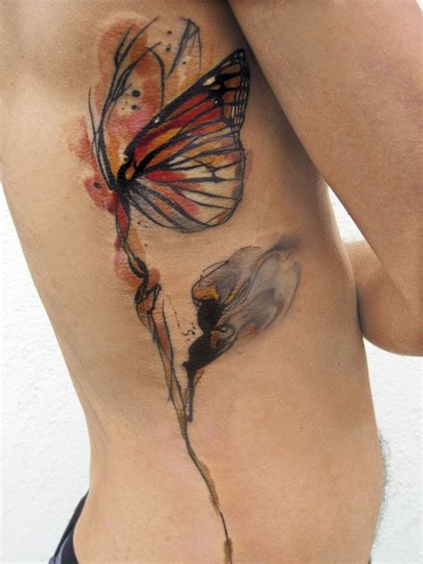 tattoo butterfly watercolor 50 butterfly tattoos with flowers for women nenuno creative