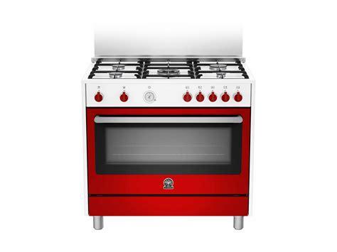 Oven Gas La Germania 90 5 burners gas oven c wr bertazzoni la germania