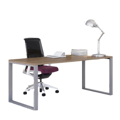 Office Desk Depth Belair Lite Office Desk With Metal Legs 24 Quot Depth