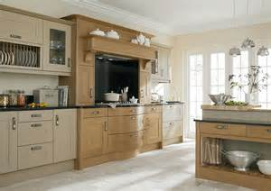 The above kitchen is broadoak painted shaker linen and oak