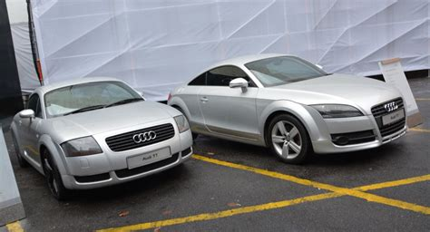 Old Audi Tt by Gallery Audi Tt Coupe Mk1 And Mk2 On Display Image 336897