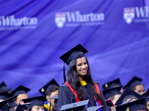 Wharton Mba Graduation 2018 by Business Schools Where Graduates Get Paid The Most