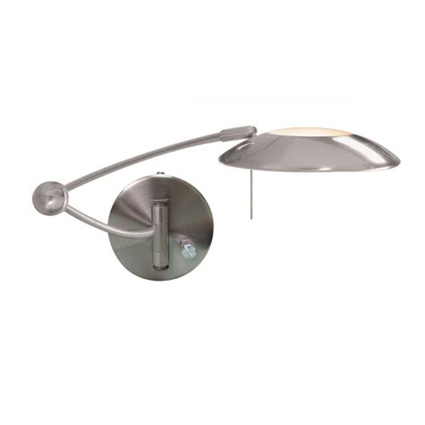 swing arm lights fully adjustable swing arm wall light in satin silver