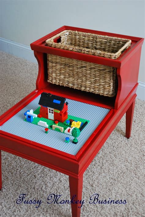 how to make a lego bench fussy monkey business lego table