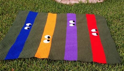 crochet pattern ninja turtle blanket ninja crochet pattern free tutorials and great ideas the