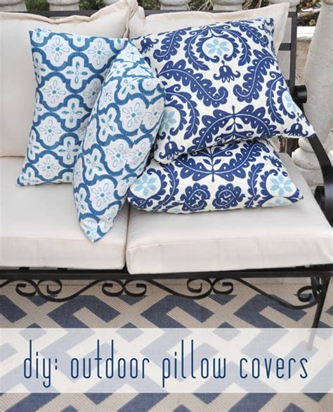 easy outdoor pillow covers centsational
