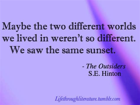 we do things differently the outsiders rebooting our world books quotes from the outsiders book quotesgram