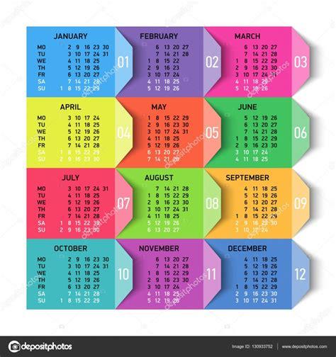 design calendar template 2017 calendar 2017 template design stock vector 169 alhovik