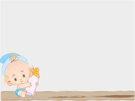 Baby Feed With Milk Backgrounds Foods Drinks Templates Free Ppt Backgrounds And Powerpoint And Baby Powerpoint Template Free